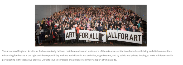 ARAC participating in Art Advocacy Day